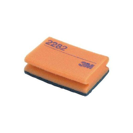 3M szivacs dörzsis 95 x 150 mm Nr.2282 kék/narancssárga