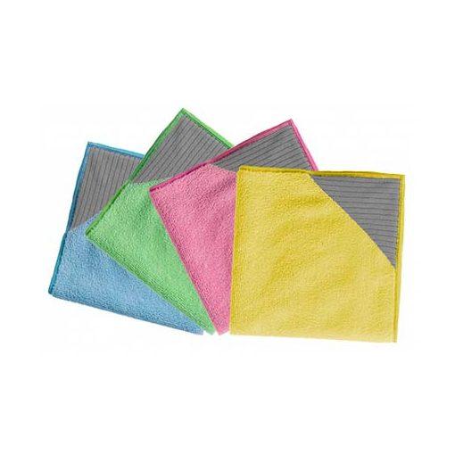 Törlőkendő Microfibre Plus sárga 5db/csomag