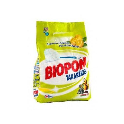 Biopon Kompakt Takarékos mosópor 2,8 kg