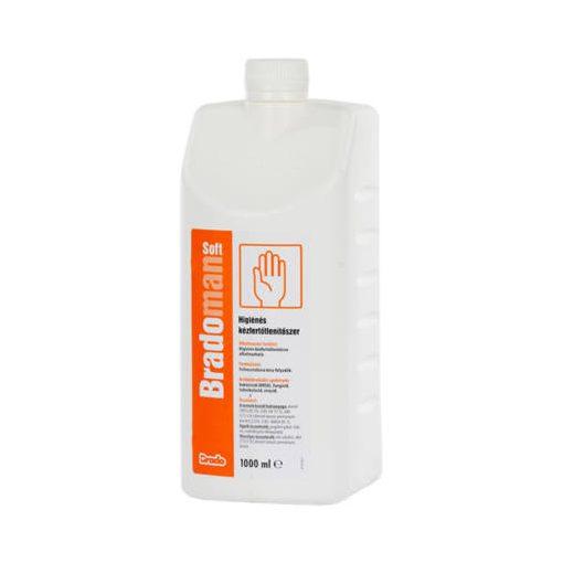 Bradoman soft kézfertőtlenítőszer 1 liter