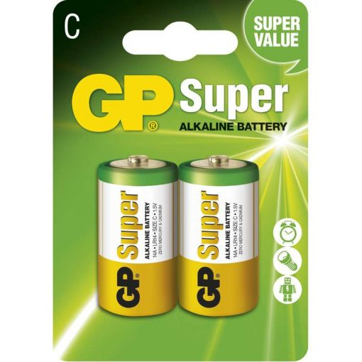 LR14 C elem GP 14A Super alkáli
