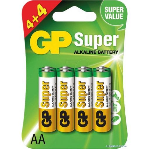 LR6 AA elem GP 15A Super alkáli