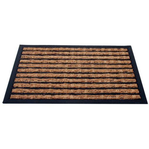 Lábtörlő, gumi+kókuszrost, 40x60 cm