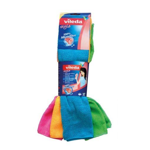 Vileda Style mikroszálas színes törlőkendő Új!
