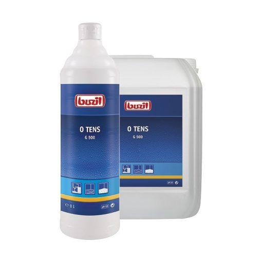 Buzil O-Tens tenzidmentes tisztítószer kárpit, szőnyeg, őröltgránit padló, 10 liter