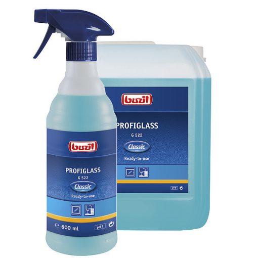 Buzil Profiglass üvegtisztító portaszító hatással, 600 ml