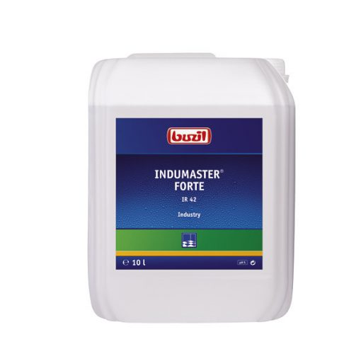 Buzil Indumaster forte oldószer tartalmú ipari és sportpadló tisztító, 10 liter