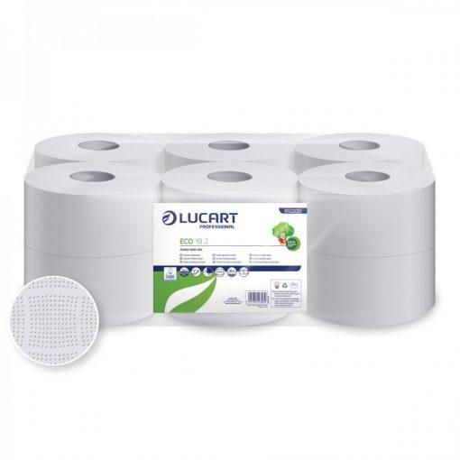 Lucart Eco 19 toalettpapír 2 rétegű fehér 12x120 m