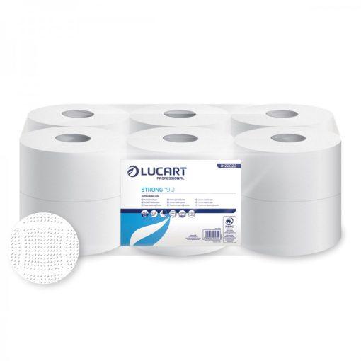 Lucart Strong 19 toalettpapír 2 rétegű fehér 12x130 m