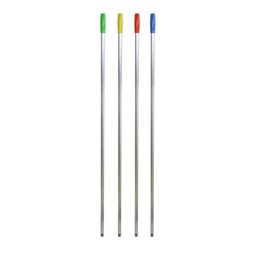 Euromop nyél alumínium, olasz menetes, 145 cm, piros, 4502004.02