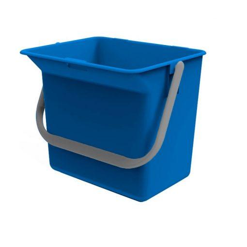 Euromop tartozék, vödör, 6 literes, kék, 7000017.15, tak.k.