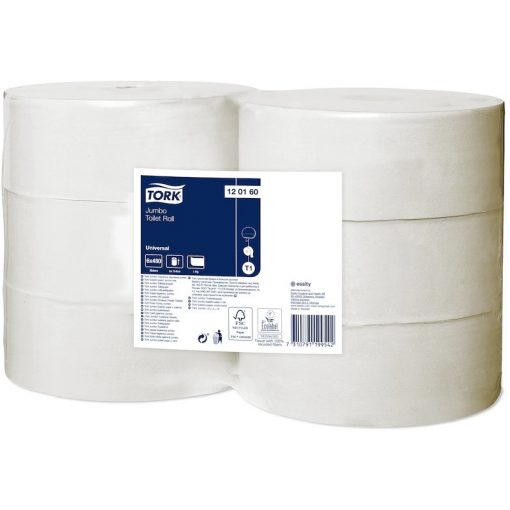 Tork Universal jumbo toalettpapír T1 1 r, törtfehér, 6x480m SCA120160