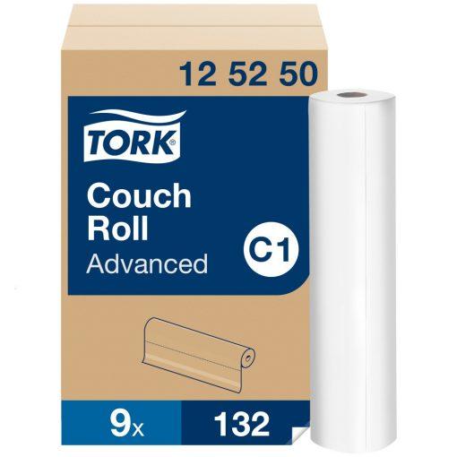 Tork vizsgálóasztal terítő C1 Advanced fehér, 50x37,8 cm, 50 m/132 SCA125250