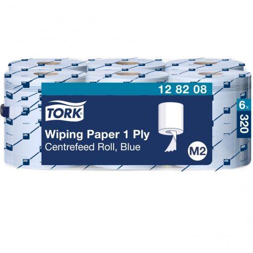 Tork törlőpapír, belsőmagos M2 1r, kék, 6x320m SCA128208