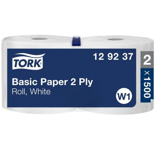 Tork általános papír 2 rétegű, tekercses W1 2r, fehér, 2x510m SCA129237 *kifutó termék