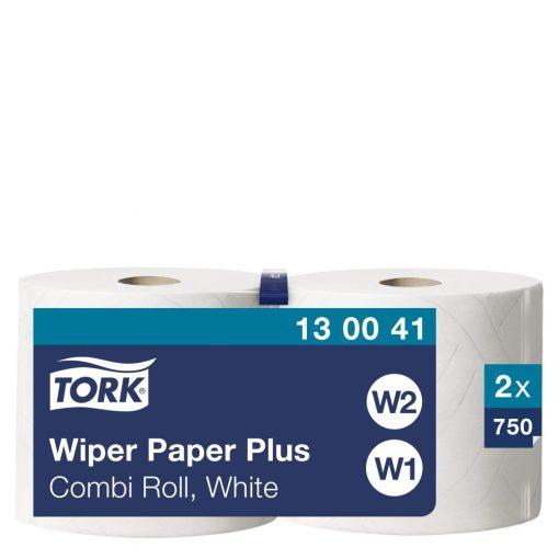 Tork törlőpapír plusz, kombi tekercses W1/W2 2r, fehér, 2x255m SCA130041