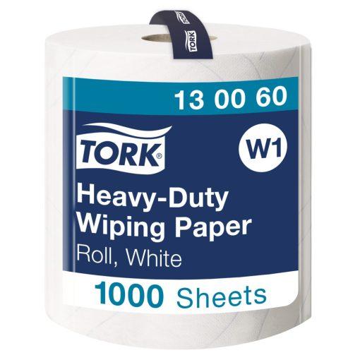 Tork nagyteljesítményű törlőpapír, tekercses W1 2r, fehér, 1x340m SCA130060