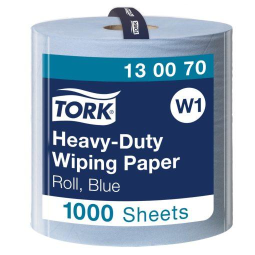 Tork nagyteljesítményű törlőpapír, tekercses W1 2r, kék, 1x340m SCA130070