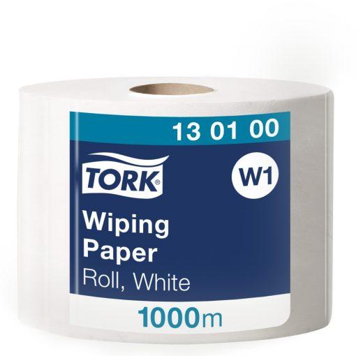 Tork törlőpapír, tekercses W1 Advanced fehér 1 rétegű, nem perforált, 1000 m SCA130100