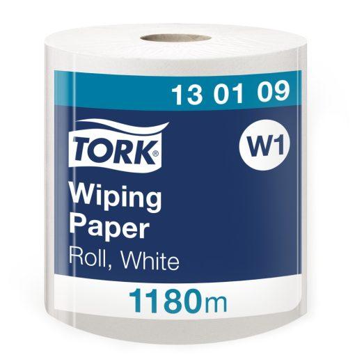 Tork törlőpapír, tekercses W1 1r, fehér, 1x1180m SCA130109