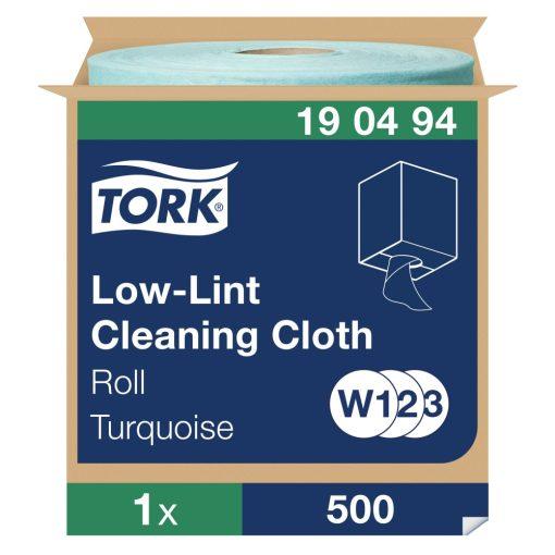 Tork szöszszegény tisztítókendő, tekercses,W1/W2/W3, 1 r, kék, 180m SCA190494