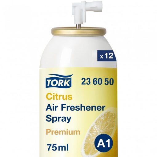 Tork Premium aerosol utántöltő A1 citrus, 12x75ml SCA236050