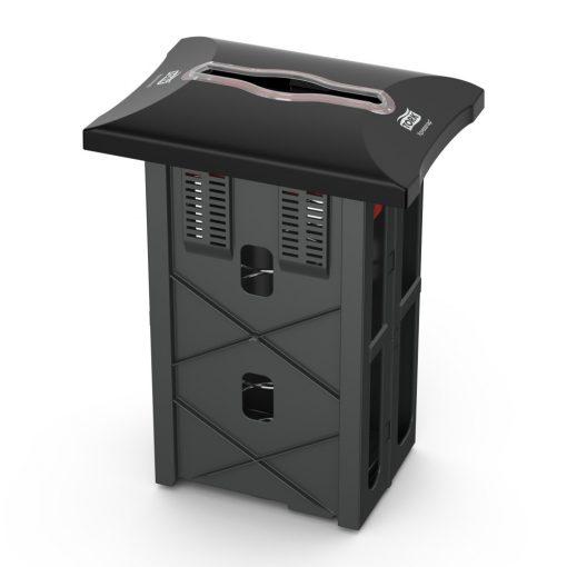 Tork Xpressnap pultba süllyeszthető szalvétaadagoló N4, fekete, 343x251x178 SCA272701