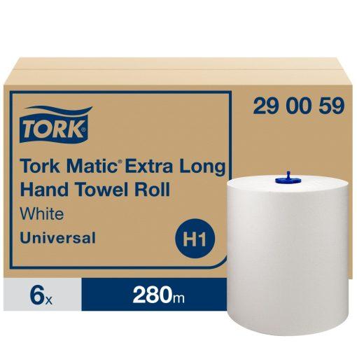 Tork Universal Matic tekercses kéztörlő H1 1r, fehér, 6x280m SCA290059