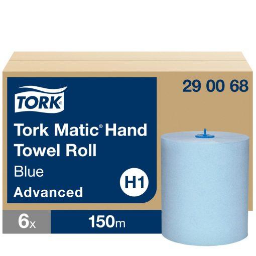 Tork Advanced Matic tekercses kéztörlő H1 2r, kék, 6x150m SCA290068