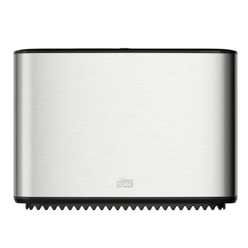 Tork Mini Jumbo toalettpapír adagoló T2 Image design, rozsdamentes acél/műanyag 35,5x25,4x13,3 cm SCA460006