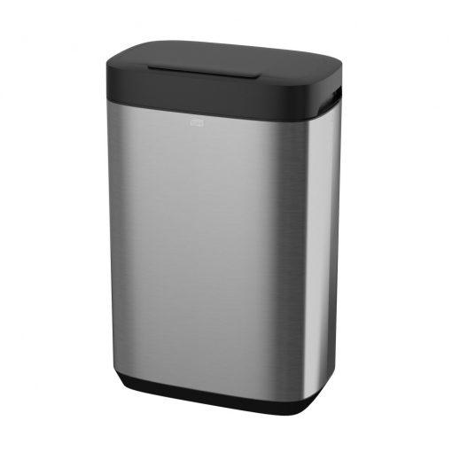 Tork hulladékgyűjtő, 50 literes B1 Image design, rozsdamentes acél/műanyag 61,4x39,5x25,3 cm SCA460011