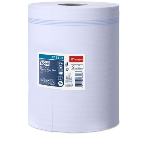 Tork Reflex törlőpapír, belsőmagos M4 2r, kék, 6x150m SCA473391