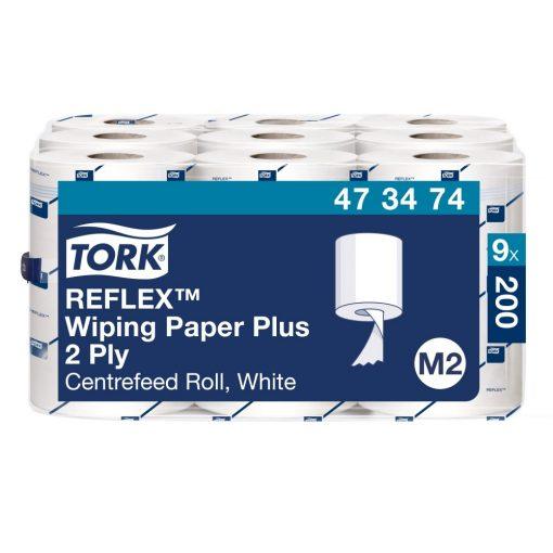 Tork Reflex törlőpapír plusz, mini belsőmagos M3 2r, fehér, 9x67m SCA473474