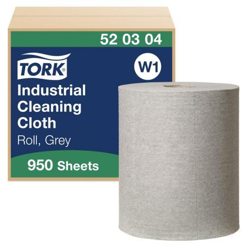 Tork ipari tisztítókendő, tekercses W1 1r, szürke, 1x361 m SCA520304