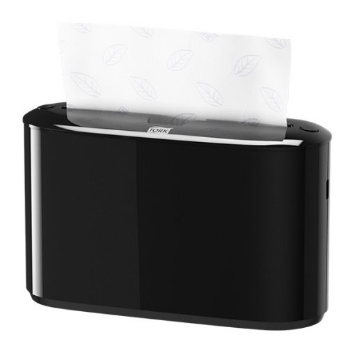 Tork Xpress Multifold kéztörlő adagoló, pultra tehető, H2 fekete SCA552208