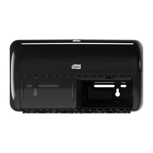 Tork kistekercses toalettpapír adagoló T4 fekete SCA557008