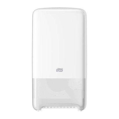Tork Mid size duplatekercses toalettpapír adagoló T6 fehér SCA557500