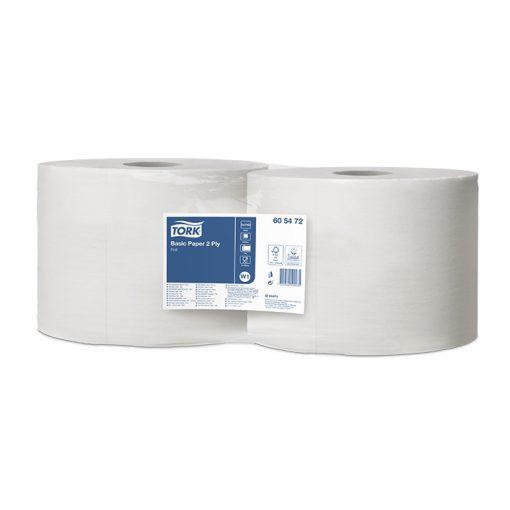 Tork általános papír, tekercses W1/W2 Universal fehér 2 rétegű 24 x 35 cm 400 m/1143 lap SCA605472