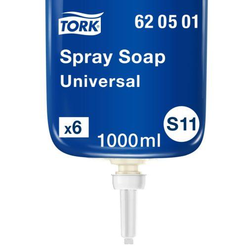Tork Universal spray szappan, illatosított, S1 halványsárga, 1 liter SCA620501