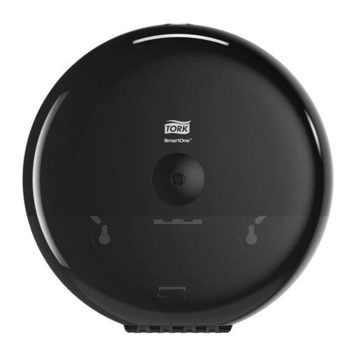 Tork SmartOne tekercses toalettpapír-adagoló T8 Elevation fekete ABS 26,9 x 26,9 x 15,6 cm SCA680008