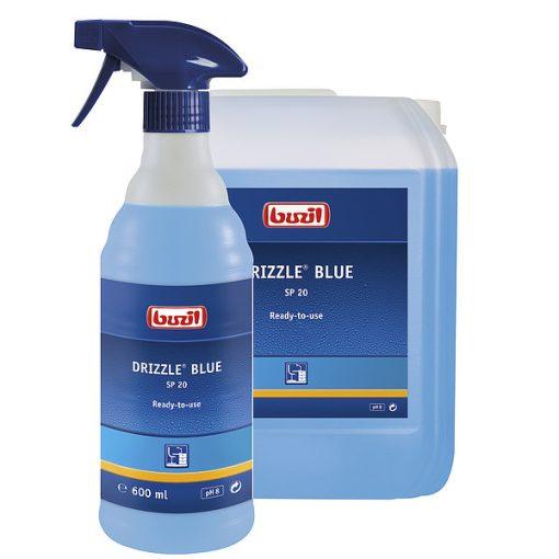 Buzil Drizzle blue felület tisztító, ceruza, filctoll, nikotin eltávolító, 10 liter