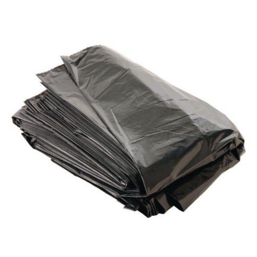 Szemeteszsák 80x120 cm 0.04 mm, 150 liter, 10 db barna